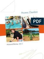Access Darebin Autumn-Winter 2013