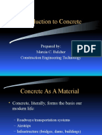 Introduction to concrete technology