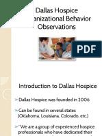 dallas hospice presentation