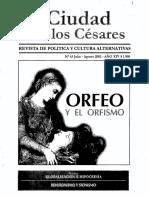 Orfeo y El Orfismo