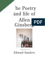 Allen Ginsberg by Ed Sanders