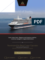 Cruise Weekly for Tue 22 Mar 2016 - Carnival Corp to Cuba, Seabourn Encore, Cunard, RCL appointments, CLIA and more