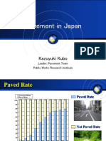 Pavement in Japan