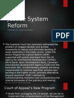 Justice System Reform