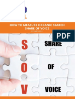 Measuring Organic SOV of Brands - To the NEW Digital