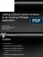 Adding QtQuick Base Windows to an Existing QWidgets Application-dark