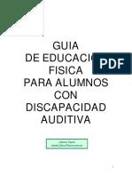 Cabrera Rico, Pedro - Guia de La Educacion Fisica Para Alumnos Con Discapacidad Fisica