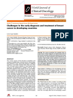 UNGER 2014 Challenges for Breast Cancer Care in Developing Countries 2