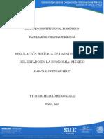 Ensayo Regulación Juridica Del Estado Como Interventor de La Economia