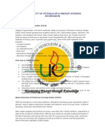 UPES-College of Legal Studies