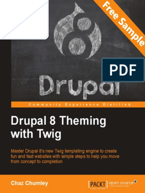 Drupal 8 Theming with Twig - Sample Chapter | Drupal | Php