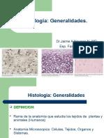 Generalidades de Histologia
