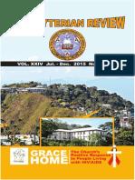 Presbyterian Review - July_December, 2015