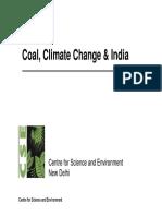 Coal & India