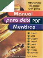 Manual Para Detectar Mentiras-Majesky y Butler