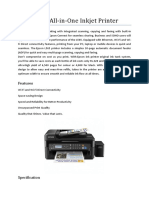 Epson L565 All-In-One Printer