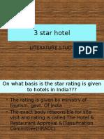 3 star hotel lit study