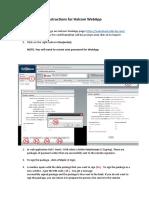 Instructions for Halcom WebApp - Copy