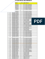 0 ARSC Document Index (Electrical)