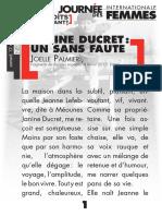 Parcours de texte - Journée internationale des femmes à Néoules - 12 mars 2016