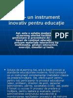 AeL – Un Instrument Inovativ Pentru Educaţie