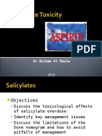 salicylates tca toxicity