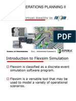 A Virtual Reality in Flexsim