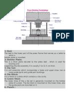 Tool Design Terminology