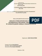 Analiza Funkcjonalności Układów Torowych w Gop_Jacek Walczyński_Praca dyplomowa