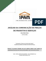 T2 - Análise da Comunicação de Preços de Produtos e Serviços