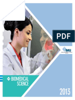 Biomedical Science Brochure
