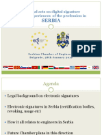 05 Serbia the Legal Acts on Digital Signature