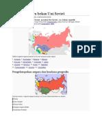Negara-negara Bekas Uni Soviet