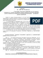 124.Ordin Nr.2440-06.08.2013 Pentru Desemnarea Societatii Comerciale CERROCIM S.a. in Vederea Notificarii La Comisia Europeana