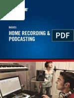 En Basics Home Recording Podcasting Shure