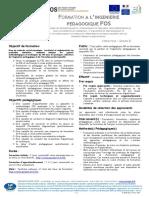 D IPM 031 V0 Fiche Programme Formation