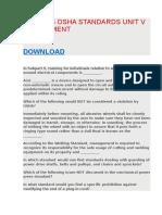 BOS 4025 OSHA STANDARDS UNIT V ASSESSMENT.docx