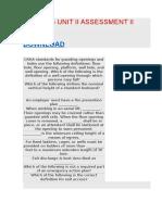 BOS 4025 UNIT II ASSESSMENT II.docx