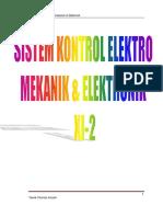 Sistem Kontrol Elektro Mekanik Elektronik Xi 2