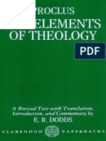 Proclo - The elements of Theology