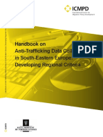 Handbook on Anti-Trafficking Data Collection in SEE