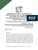 Jerarquías, Familia y Formas de Participación