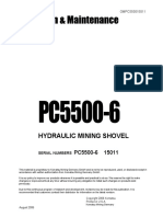 Komatsu PC5500-6 Shop Manual