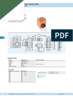 Data Sheet Da04 Siko Handwheel encoder