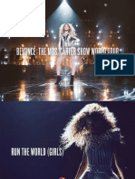 [BOOKLET] Beyoncé- The Mrs. Carter Show World Tour