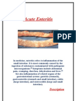 Acute Enteritis