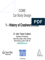 History of Crashworthiness