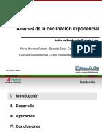 Declinacion exponencial