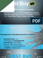 HRM process of BestBuy & Accenture