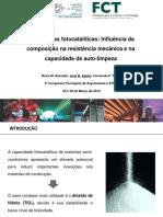 Argamassa Fotocatalitica